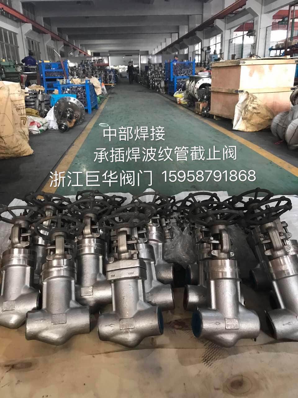 中部焊接-承插焊波纹管截止阀